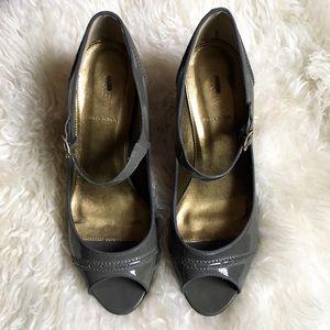 J. Crew Shoes - J. Crew   Patent Peep Toe Heels